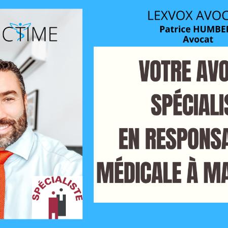 Avocat spécialisé en responsabilité médicale et en dommage corporel à Marignane